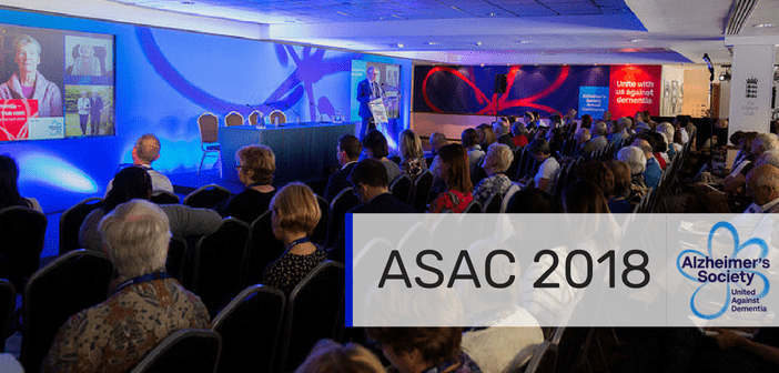 Alzheimer's Society Annual Conference 2018: Making progress in dementia research