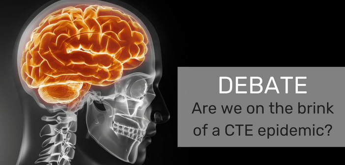 'Are we on the brink of a CTE epidemic?' – Debate from Frontiers in TBI