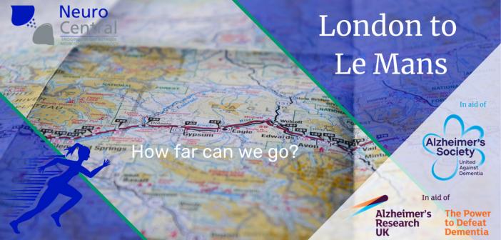 World Alzheimer's Month fundraiser – London to Le Mans