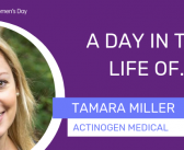 International Women's Day: a day in the life of Tamara Miller