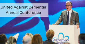 This is an image of Jeremy Hughes from the Alzheimer's Society Annual Conference 2019 by the Alzheimer's Society.