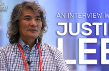 This is a headshot image of Justin Lee for an interview on Neuro Central from the UK–Korea Neuroscience Symposium.