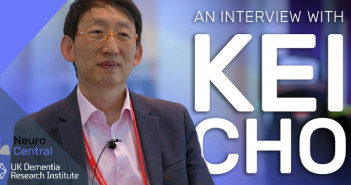 This is a headshot of Kei Cho for an interview with Neuro Central, which took place at the UK–Korea Neuroscience Symposium.