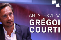 This is a video screenshot of Gregoire Courtine for a video interview on Neuro Central.